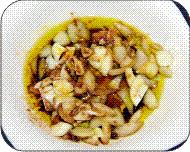 Ensalada de cebolla y huevo duro