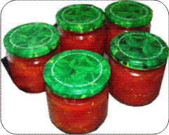 Conserva de tomate casera