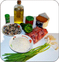 Arroz de conejo y caracoles ingredientes