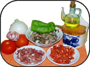 Caracoles a la Riojana ingredientes