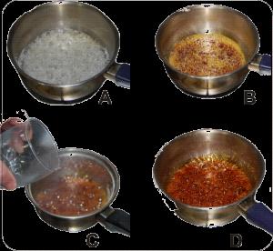 Caramelizar molde