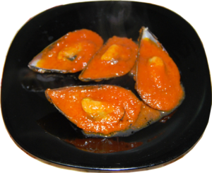Mejillones picantes