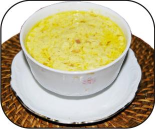 Salsa de curry y manzana verde