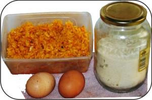 Croquetas de paella ingredientes