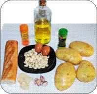 ingredientes patatas ajopollo