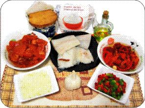 Bacalao a la Riojana ingredientes