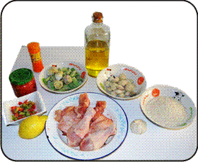 Paella mixta ingredientes