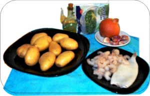 Sopa de gambas ingredientes