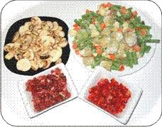 Menestra de verduras ingredientes