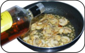 Salsa de champiñones 4