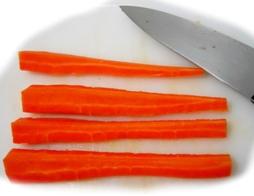 Corte de zanahoria 3
