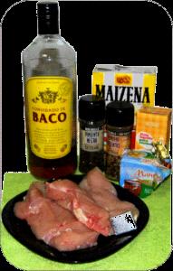 Pollo salsa de pimienta