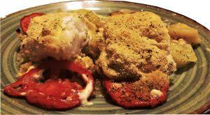 Bacalao gratinado con patatas