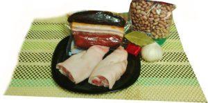 Ingredientes de pintas con compango