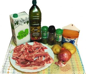Ingredientes de chuletillas al horno