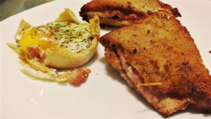Libro relleno de jamon york y queso
