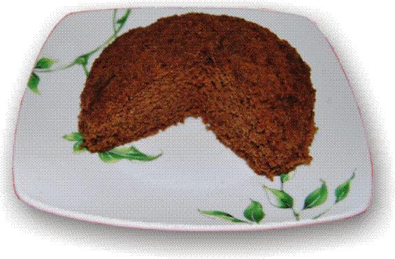Bizcocho de cola-cao al microondas